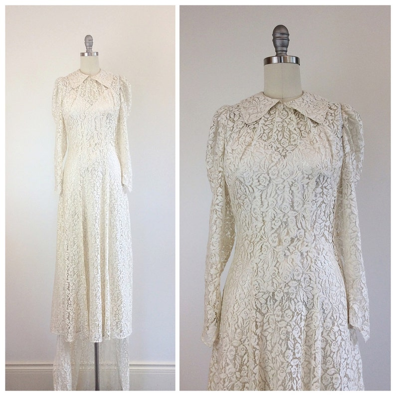 8c2c4fa535a8 Long Sleeve Lace Wedding Dress With Stunning Silk Slip - Classycloud.co