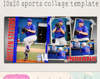 sports collage etsy