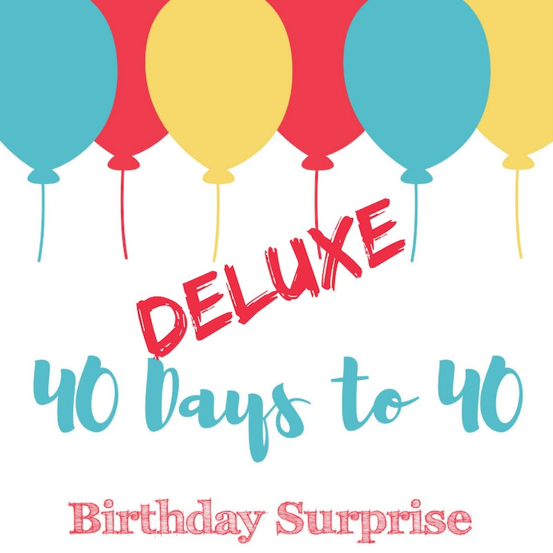 Milestone 40th Birthday Surprise Kit image 0