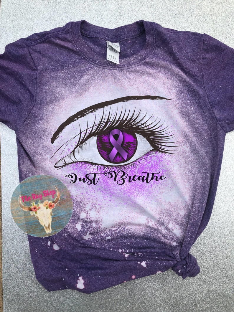 just breathe cystic fibrosis Awareness Tee unisex fit