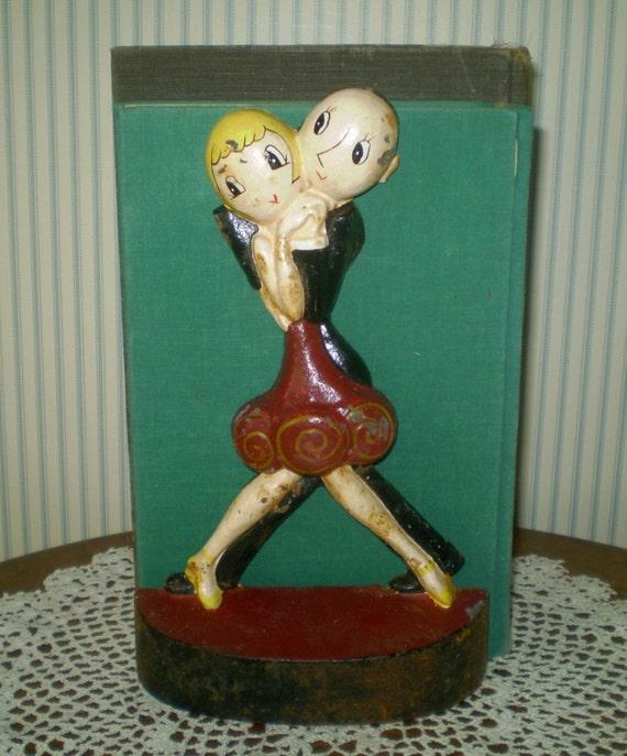 image 0 - SALE: Anne Fish Art Deco Charleston Dancers Door Etsy