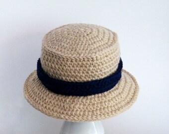 Crochet Pattern Chunky Bucket Hat Mens Hat Boys Hat Sizes  59d0e03de1f