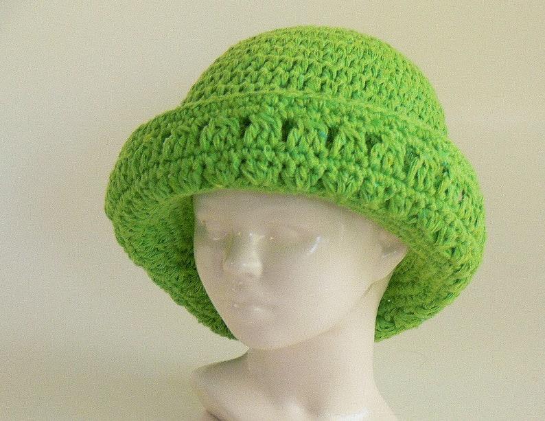280b259cff7 Crochet Pattern Annie s Hat with Wide Brim Summer Hat