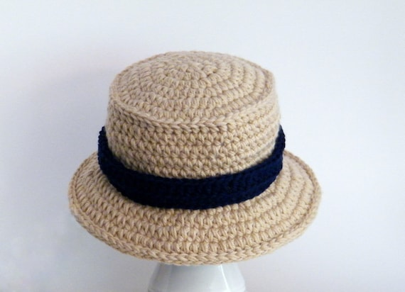 Crochet Pattern Chunky Bucket Hat Mens Hat Boys Hat  0b648d2f11a