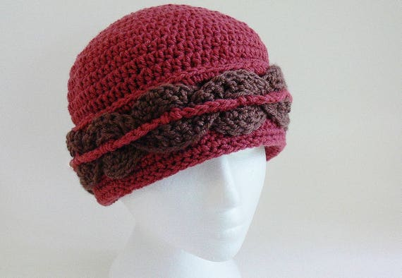 Toddler Ladies Teen Sizes Baby Crochet Hat Pattern Easy Girl Womens Large Meadowvale Studio # 128 Winter Hat Hat with Brim