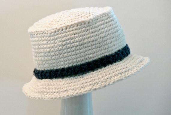 Crochet Pattern Boys Hat Mens Hat Sun Hat Bucket Hat Etsy