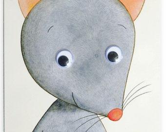 Carte de voeux souris