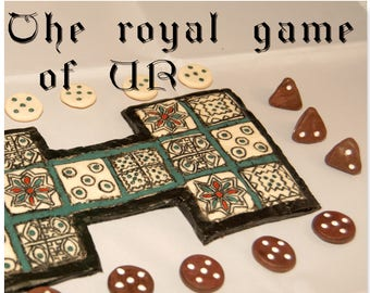 Royal Game of Ur (board game English edition)