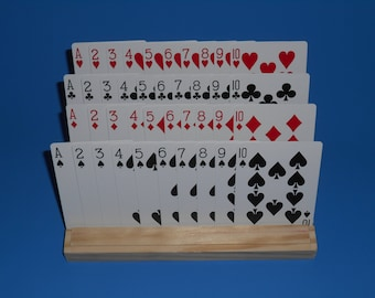 Hands Free Playing Card Holder