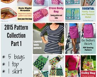 2015 Pattern Bundle Part 1 - 7 patterns