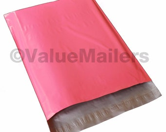 Bags 500-4x6 Hot Pink Premium Quality Poly Mailers Shipping Bag Envelopes Bags