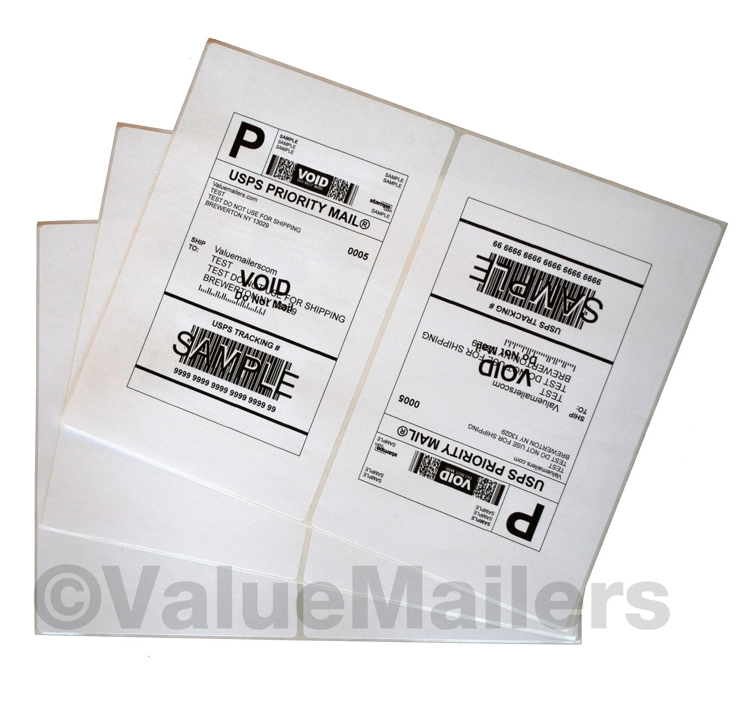 200 Rounded Corner Shipping Labels 85x55 For Etsy Paypal Circuit Breaker Ebay Amazon