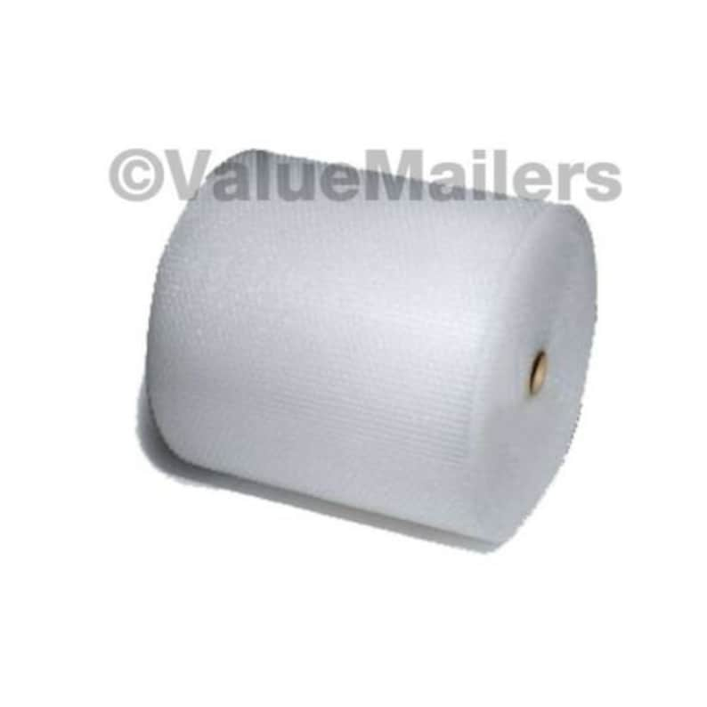 """Medium Bubble Rolls 5//16/"""" Bubble 12 inch wide x 400/' Quality DB Perforated Wrap"""