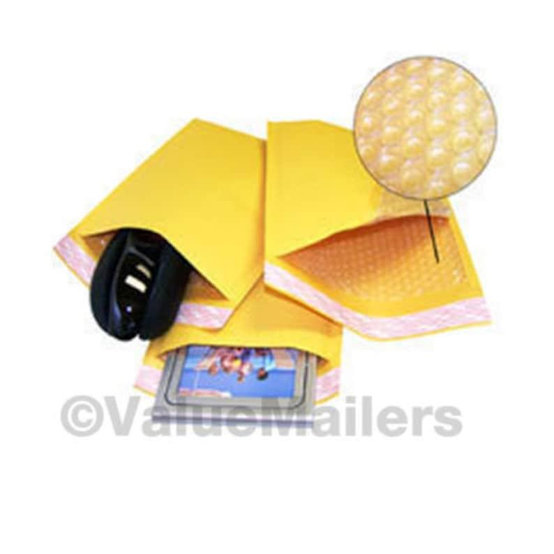 250 #4 9.5x14.5 KRAFT BUBBLE MAILERS PADDED ENVELOPES