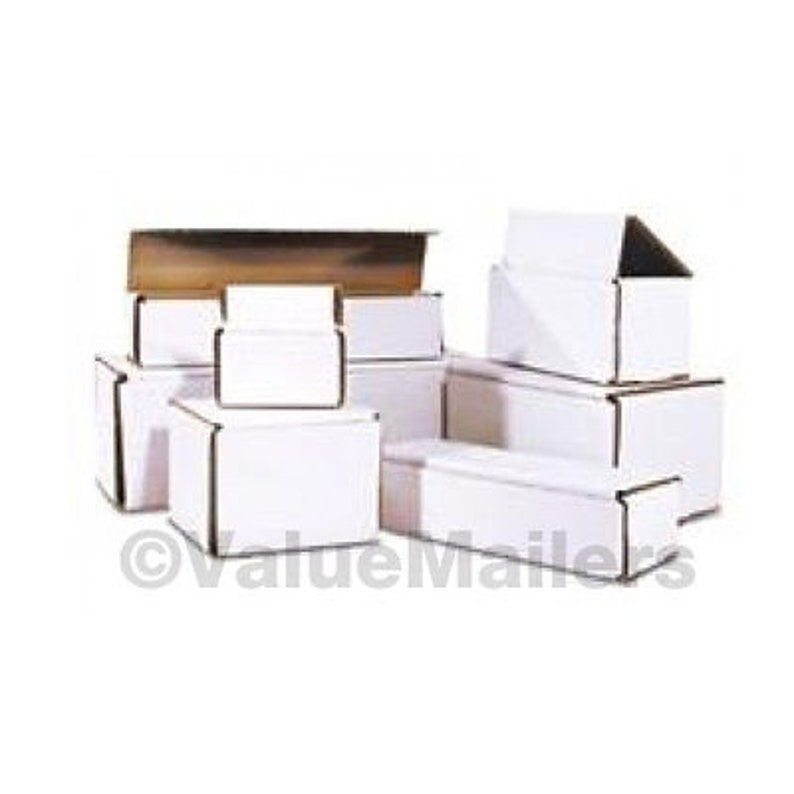 100-3 x 3 x 3 White Corrugated Shipping Mailer Packing Box Boxes