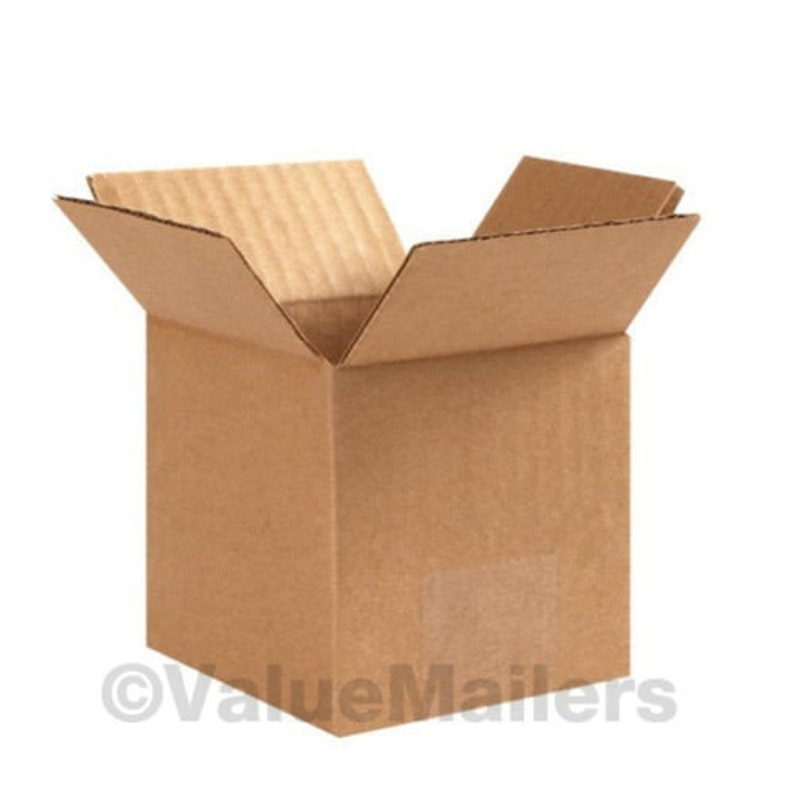 6x6x6 Shipping Packing Mailing Moving Corrugated Carton 100 Boxes 50 each 6x6x4
