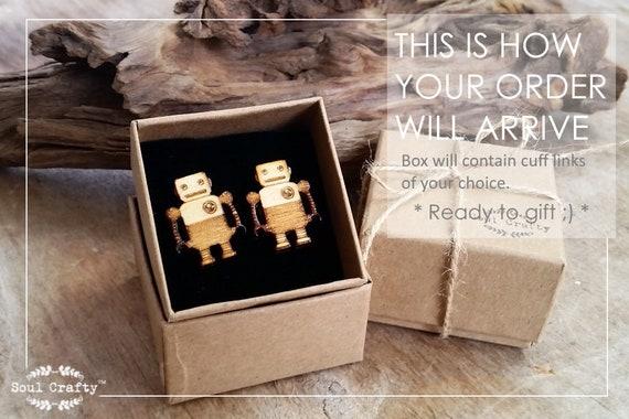 Coffee takeaway cup Wooden Cufflinks Dad Grooms Best man Groomsman Rustic Wedding Birthday Gift Cuff links