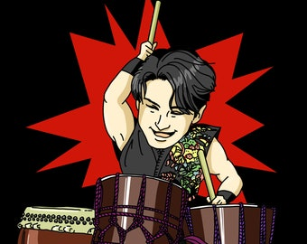 SNS profile portrait icon chibi style cute