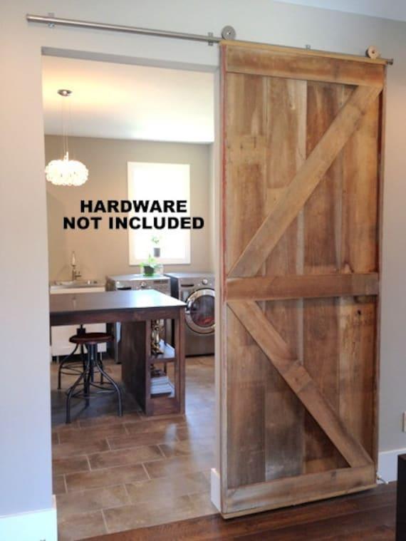 British Brace Barn Door Room Divider Made To Order From   Etsy