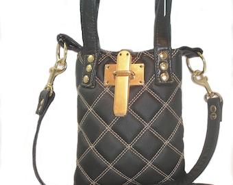 Black Quilted Purse/handbag