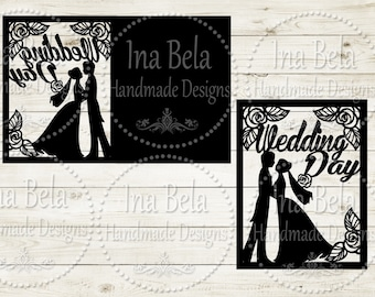 Laser Cut Invitation,Wedding Svg,Invitation Svg,Wedding Invitation Svg,Instant Download,Invitation Laser Cut,Silhouette Cutting,Wedding,Card