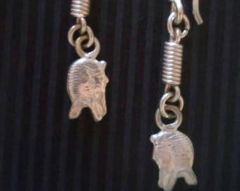 Unique Egyptian Pharaoh Earrings