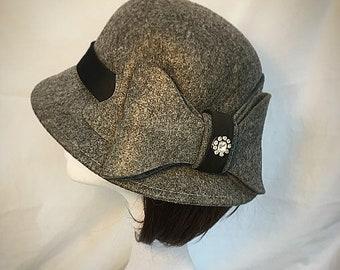 Grey bow hat 4abcdd603dc9