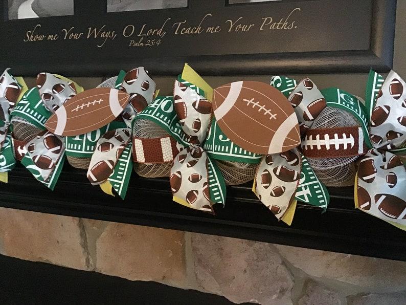 Super Bowl Party Super Bowl Decoration Football Decor Super Etsy