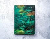 Zodiac Elements  earth notebook (Taurus, Virgo, Capricorn)
