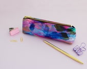 Freedom feathers pink pencil case