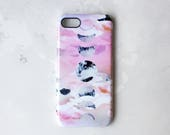 Pink Phases of the moon phone case for iPhone & samsung