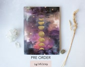 PRE ORDER Lunar moon phases Diary July 2019 - June 2020