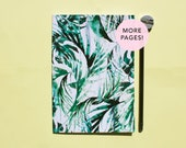 Paradise Palms thicker A5 Notebook with lined pages