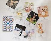 Spirit Animal Wisdom 50 card deck (Katie-Jane Wright X Nikki Strange)