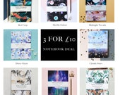 Three A5 Daydreamer notebook Deal