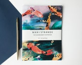 Cosmic Carp A5 Notebook with lined pages