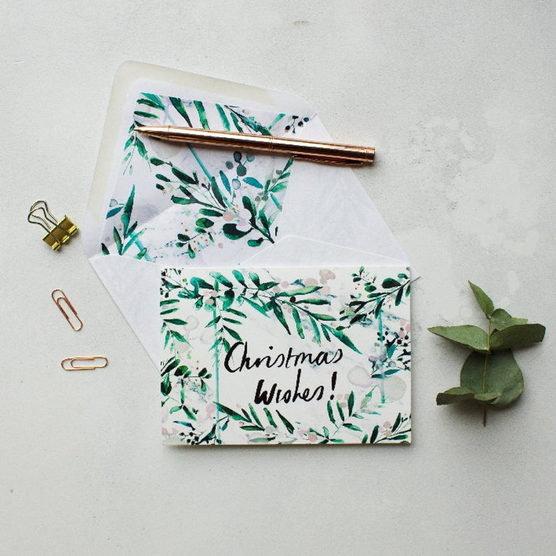 Christmas wishes greeting card image 0
