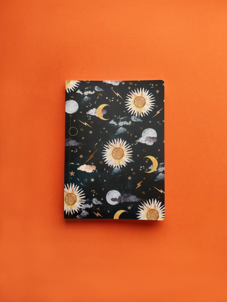 A5 luna & solis notebook image 0