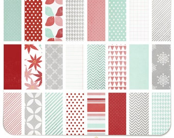 Merry   Hello December Collection Digital Paper Pack