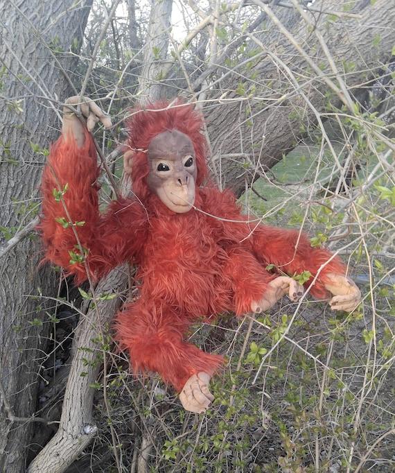 Pattern Life Sized Baby Orangutan Etsy