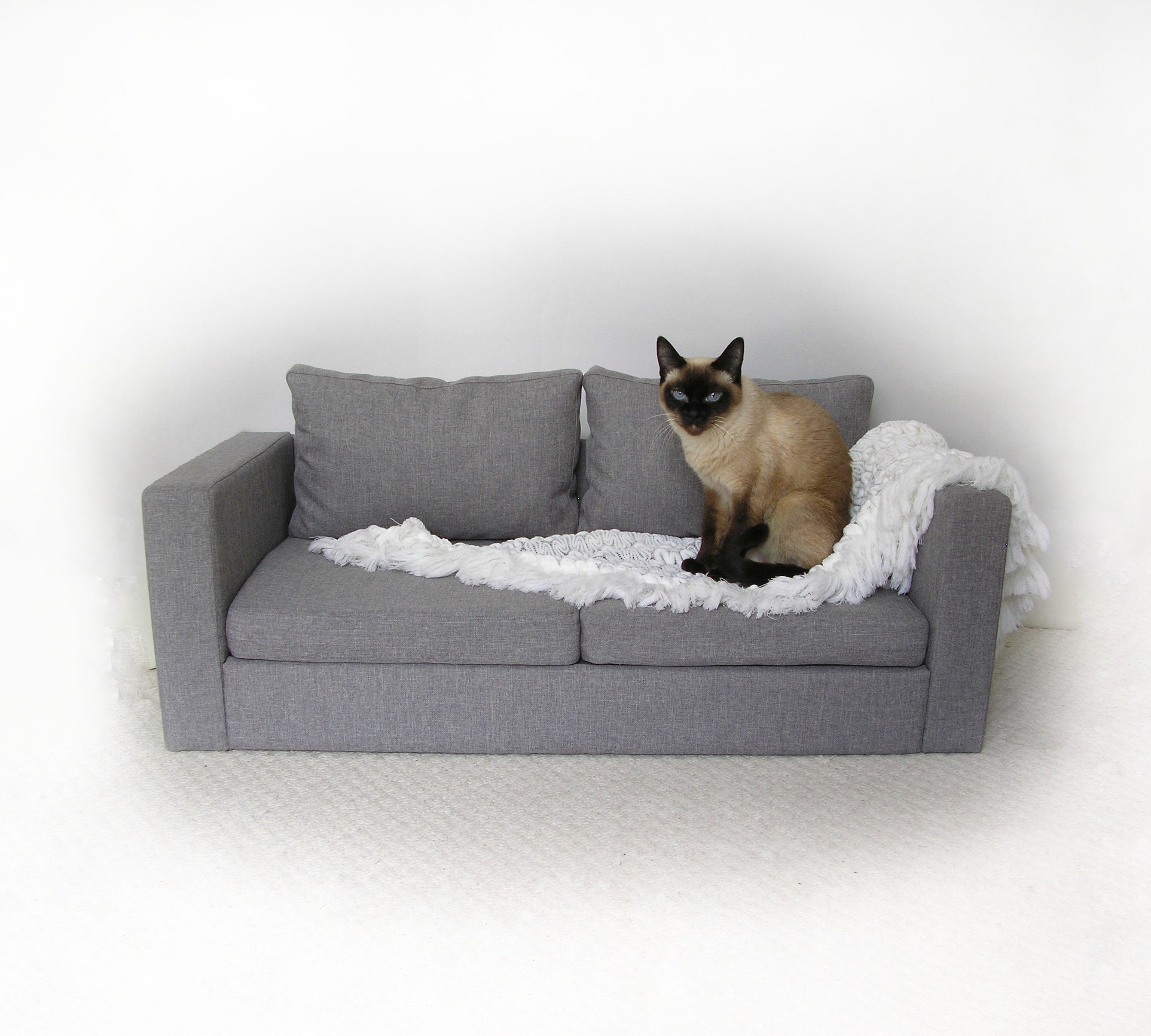 Custom Dog Bed Cat Bed Mini Copy Ikea Sofa Sofa Bed Pet Etsy