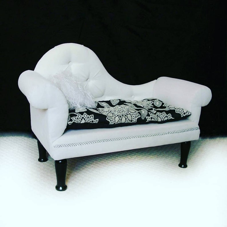 cat chaise Lounge chaise pet cat bed dog chaise dog bed dog sofa Cozy bed sofa for cat or dog