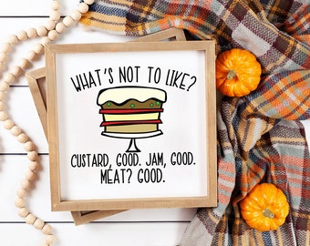Thanksgiving SVG - The One With Rachel's Trifle - Friends TV Show Quote Cut File for Cricut and SIlhouette