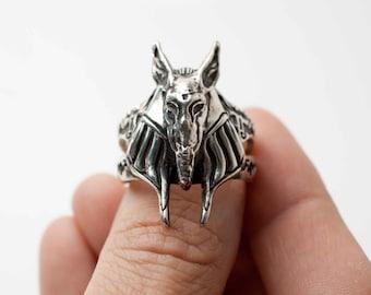 ANUBIS -Men's Ring in .925 Silver by Bakutis