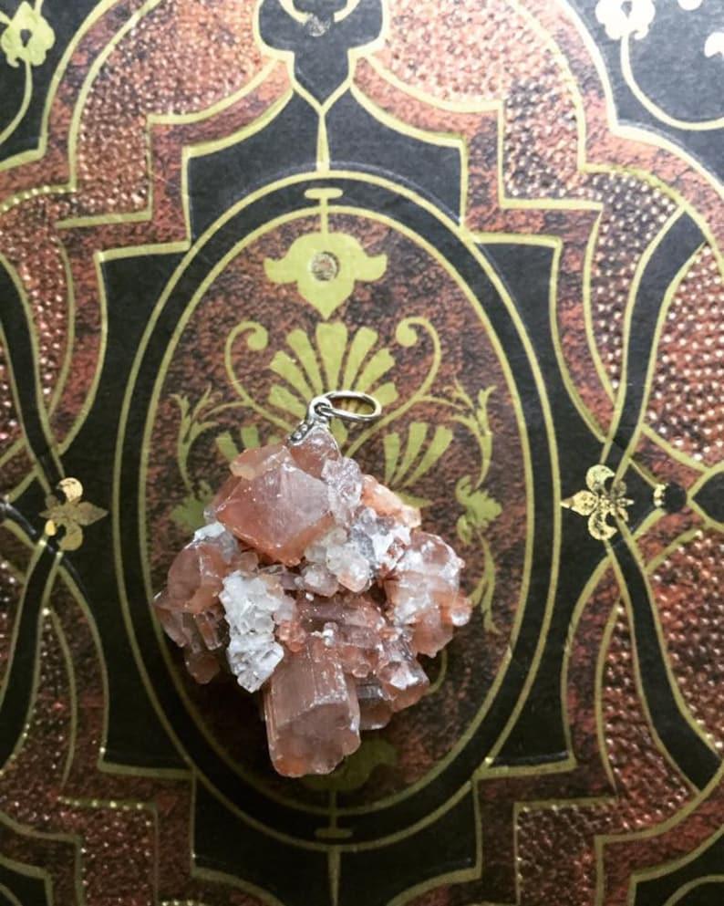 Aragonite Healing Stone Necklace