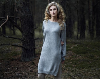 SALE Alpaca sweater dress