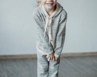 Kids hoodie 2 - 8 years 100% baby alpaca