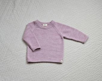 Sweater kids knit jumper in baby alpaca wool sweater pullover kids baby girl pullover alpaca sweater baby girl sweater pink knit jumper