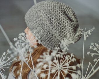 Kids hat Brown wool hat white alpaca hat gray knit hat baby alpaca beanie alpaca wool slouch toddler beanie girl hat boy knitted hat