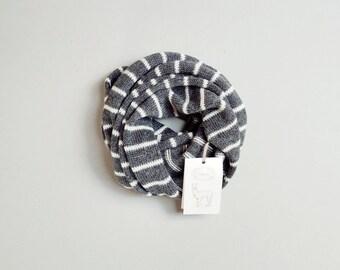 SALE Striped alpaca scarf